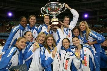 Piccinini, Secolo, Barraza, Lo Bianco vincono Coppa del Mondo, Japan 2007